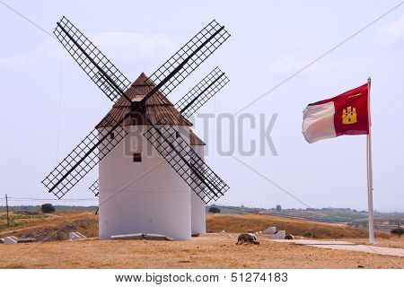 Windmills And The Flags