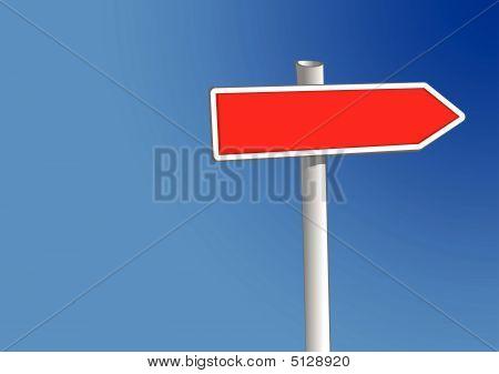 Zeichen buchen einen Pfeil (Vector)