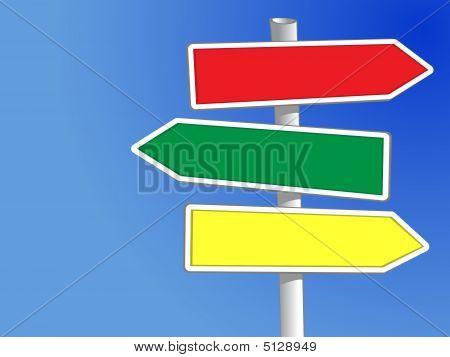 Zeichen buchen drei Pfeile (Xxl)