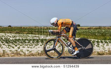 The Cyclist Jon Izagirre Insausti