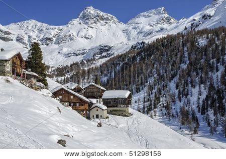Cuneaz (valle D'aosta, Italy)