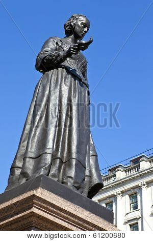 Florence Nightingale Statue In London