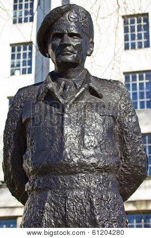 Field Marshall Viscount Montgomery Of Alamein Statue
