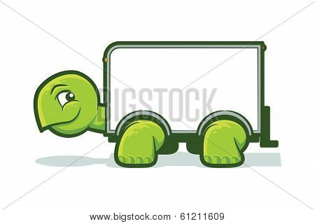 Turtle Moving Truck
