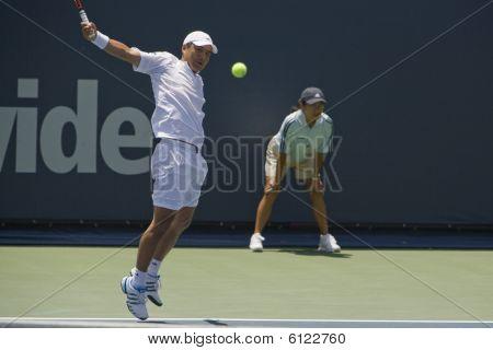 Hyung-Taik Lee at Los Angeles Open