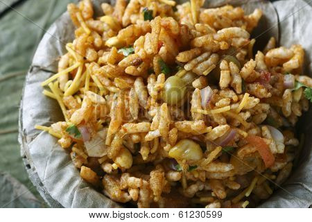 Bhel puri - A street food popular in North India