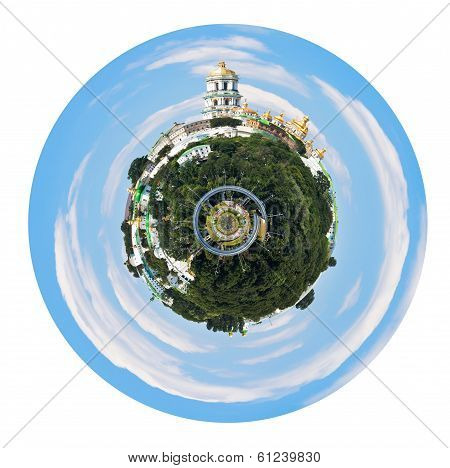 Spherical View Of Kiev Pechersk Lavra