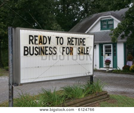 Small Business Owners Ready To Retire