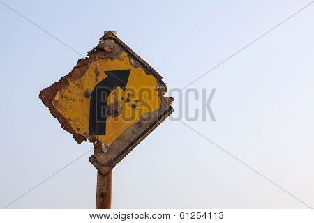 Decay Traffic Sign