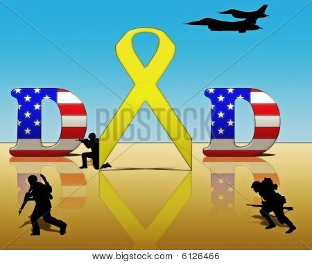 Yellow Ribbon for Dad