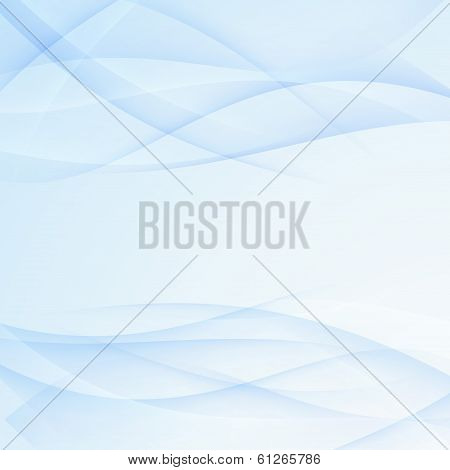 Satin Swoosh Blue Lines Background