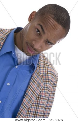 African American Male In Sports Coat