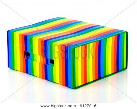 mehrfarbiger box