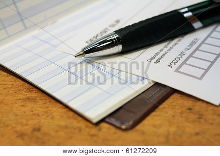 Deposit Slip With Check Ledger