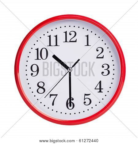 Half Of The Eleventh On A Clock Face