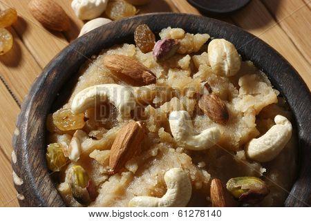 Wheat Flour based dessert from Sindhi Cuisine