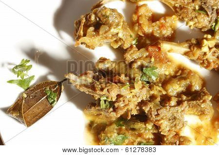 Bhuna Mutton - A Non-veg dish from Sindhi Cuisine