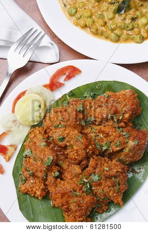 Chicken Sukka - A Preparation From Mangalore, India