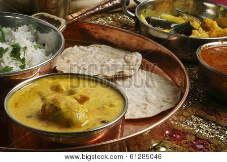 Kadhi Pakori - A dish from Gujarat