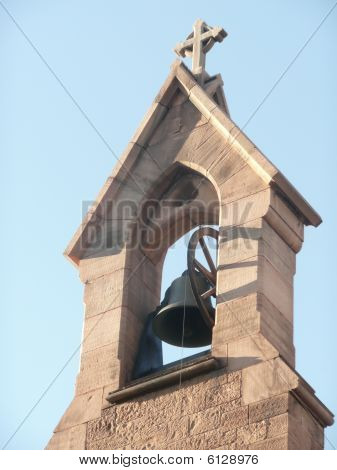 An old brick  Church Bell Tower.