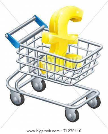 Pound Currency Shopping Cart