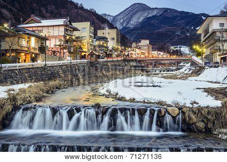 Shibu Onsen in Nagano, Japan.