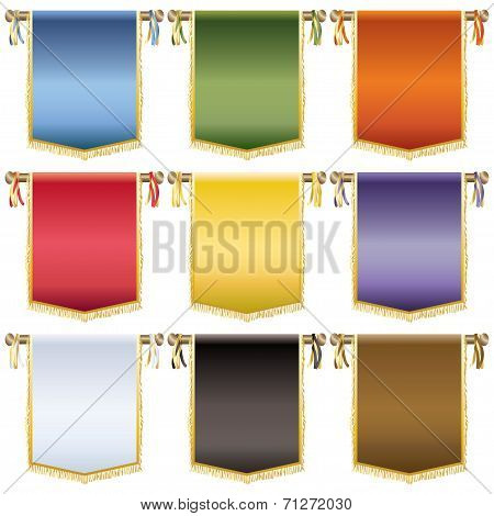 Glossy Wall Banners