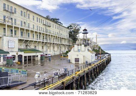 Alcatraz Island Pier, San Francisco, California