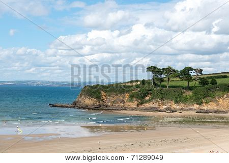 Beach Of Douarnenez (france)