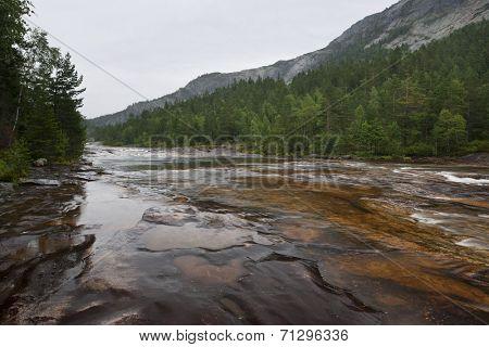 Giovdal river valley near Smelandgian Norway