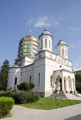 Church in Cocos Monastery Diocese of Tulcea Romania poster