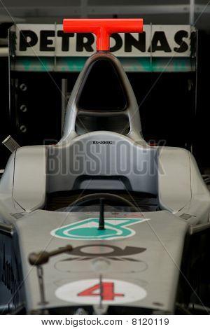 Brawn-mercedes Bgp 001 F1 Car At Goodwood Festival Of Speed