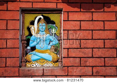 Shiva Temple In Nepal