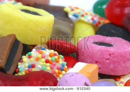 Sweets close-up