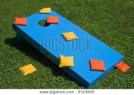 cornhole game