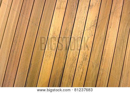 Slope Teak Wood Line