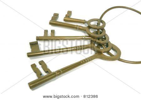 Bunch Of Brass Keys