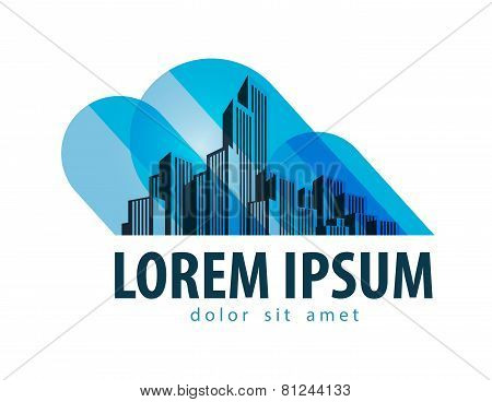 City vector logo design template. building or architecture icon.