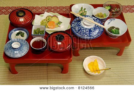 Japanese Vegetarian Meal
