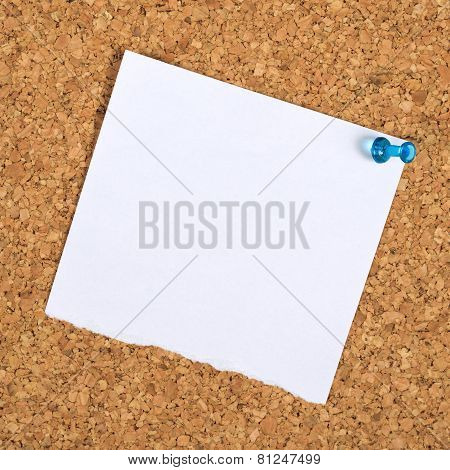 Blank Reminder Note As Copy Space