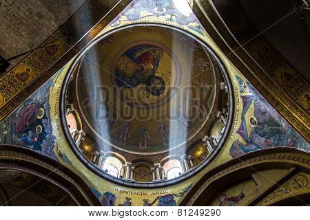 The Holy Sepulchre Church In Jerusalem
