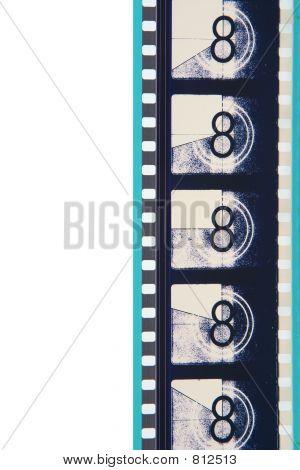 Close-Up Movie Leader Film Strip