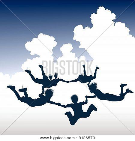 Skydiving Children