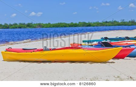 Colorful Kayak's