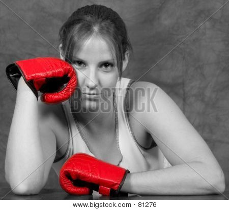 Girl With Gloves...
