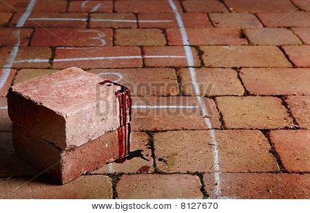 Blood Covered Bricks