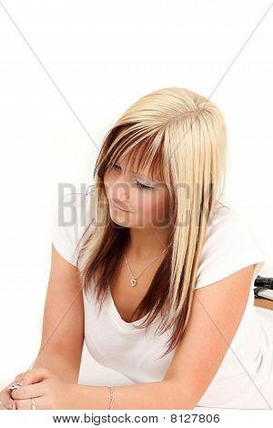 Teenage Girl Relaxing