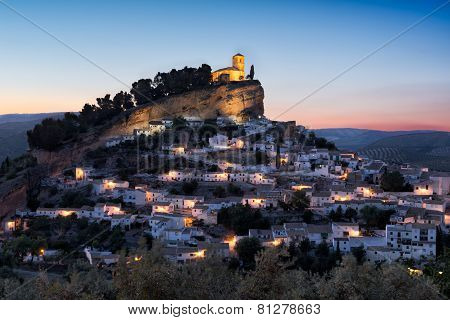 Montefrio at sunset, Andalusia, Spain