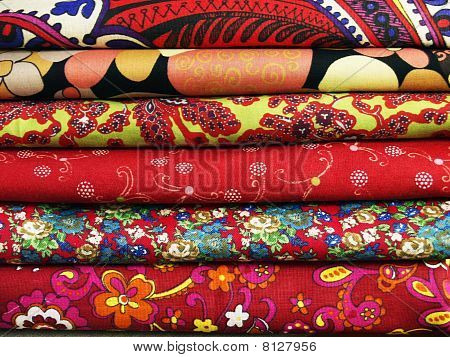 Colored Textil For Patchwork