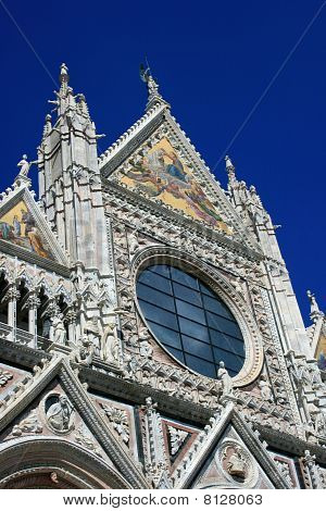 Detail Of The Cathedral Of Siena